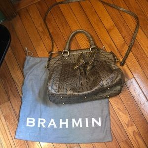 Brahmin Louise bag with roses